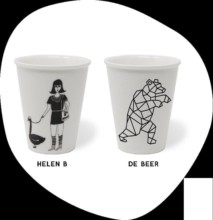 Tassen Helen B en de beer